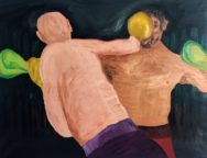 Rasmus Albertsen – A fight for nothing about nothing – Oliemaleri
